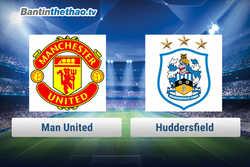Link xem trực tiếp, link sopcast MU vs Huddersfield tối nay 3/2/2018 Ngoại Hạng Anh