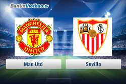Link xem trực tiếp, link sopcast MU vs Sevilla đêm nay 22/2/2018 Cup C1