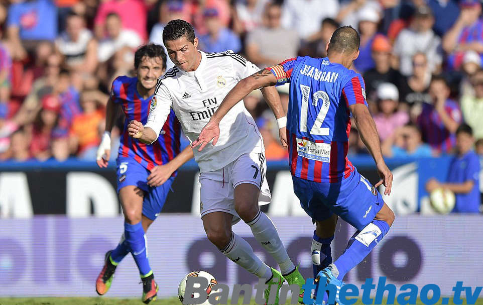 Real vs Levante tối nay 4/2/2018 La Liga