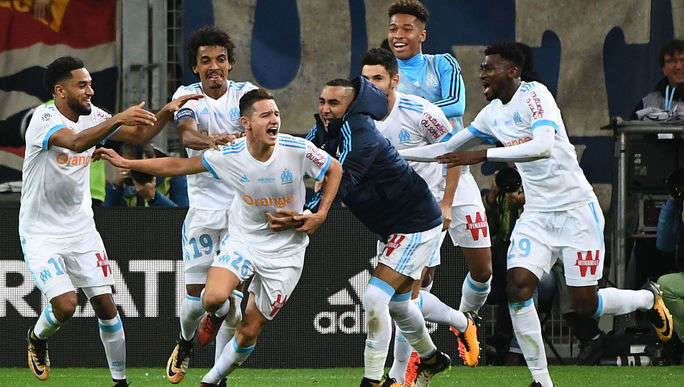 Marseille đang có phong độ tốt ở mùa giải này