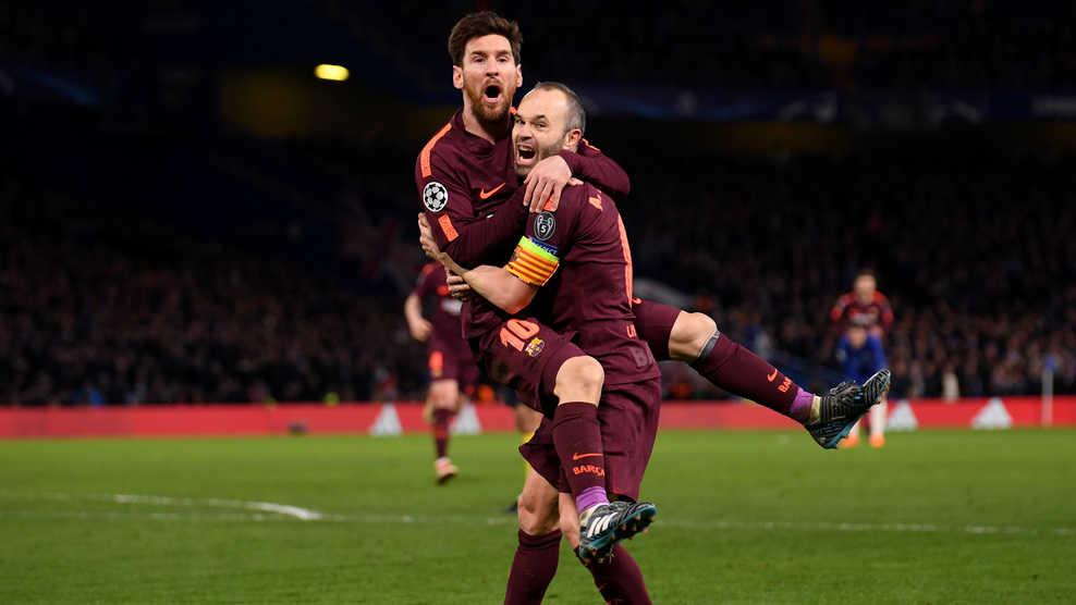 Messi tỏa sáng, Barca giành lợi thế trước Chelsea