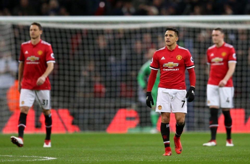 Sanchez chưa tạo được dấu ấn nào ở trận gặp Tottenham