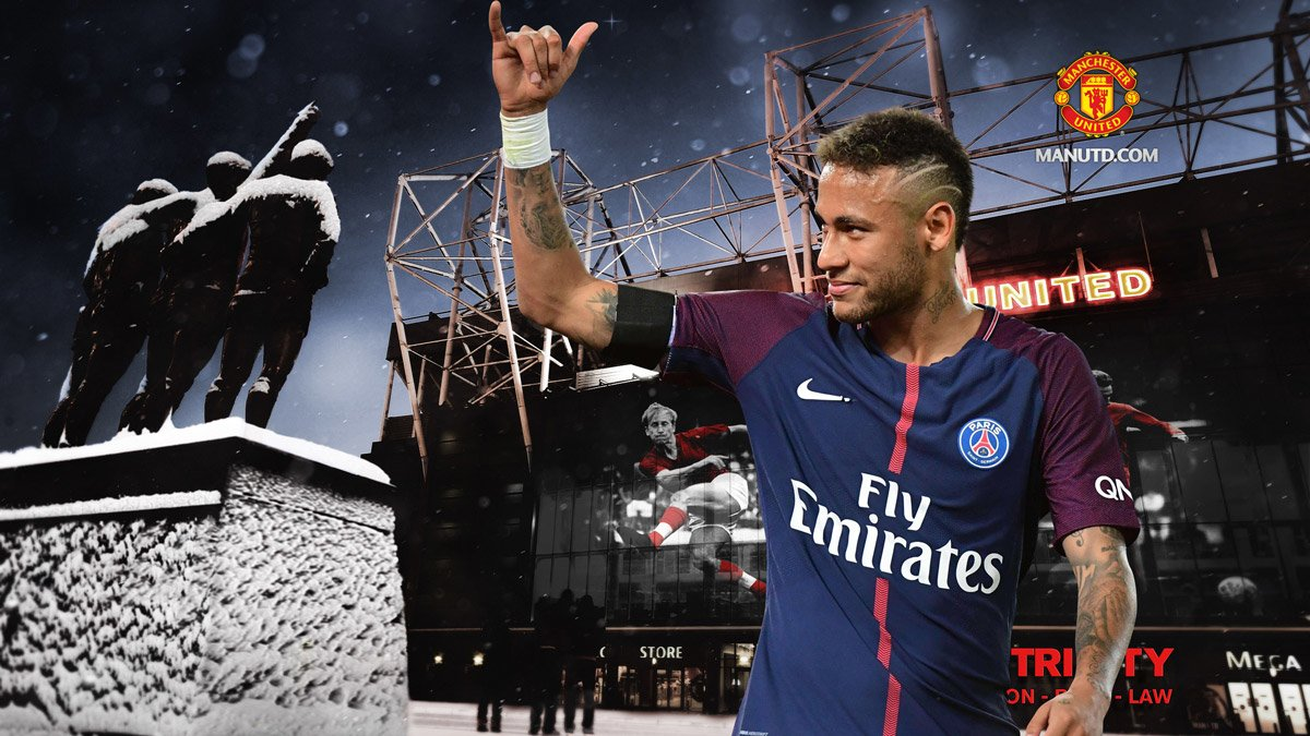 MU quyết qua mặt Real Madrid để lấy Neymar