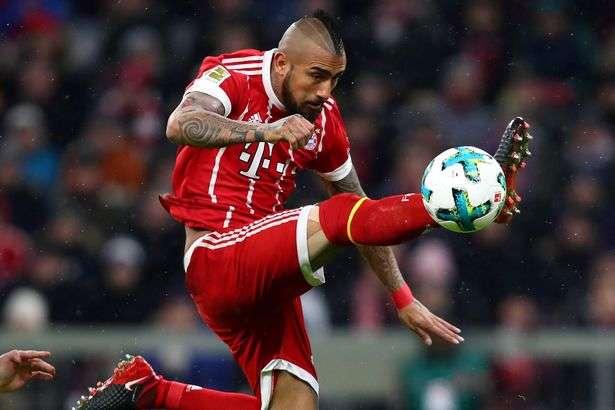 Vidal cam kết tương lai với Bayern