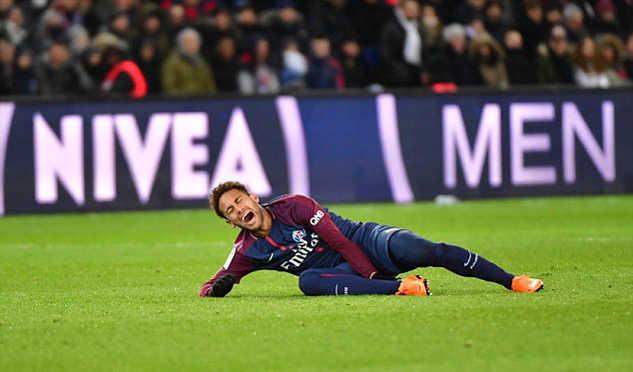 Neymar nhiều khả năng sẽ vắng mặt trong trận tái đấu với Real ở Champions League