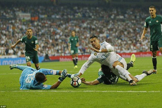 C.Ronaldo đang lấy lại phong độ ghi bàn xuất sắc tại La Liga