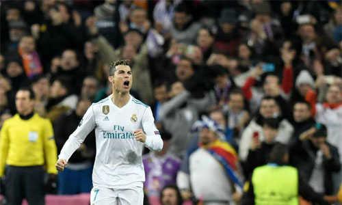 Ronaldo vượt qua con số 100 bàn ghi cho Real ở đấu trường Champions League