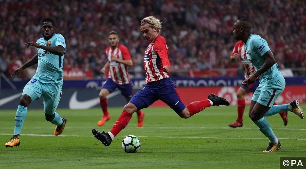 Atletico Madrid có Griezmann