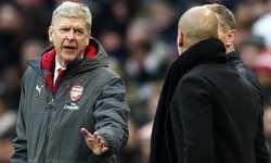 """Wenger và Pep Guardiola """"khẩu chiến"""" với nhau trong trận Chung kết Cup Liên Đoàn"""