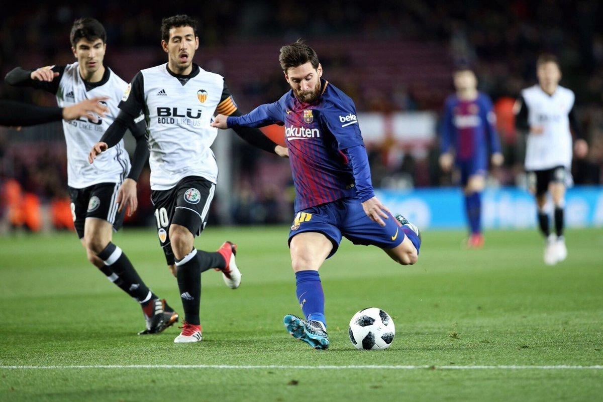 Messi chơi cực kỳ năng nổ.