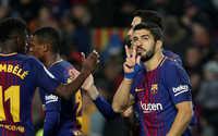 Tam tấu Coutinho - Messi - Suarez tỏa sáng, Barca đè bẹp Girona