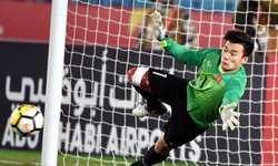Thủ thành Tiến Dũng bắt chính tại AFC Cup