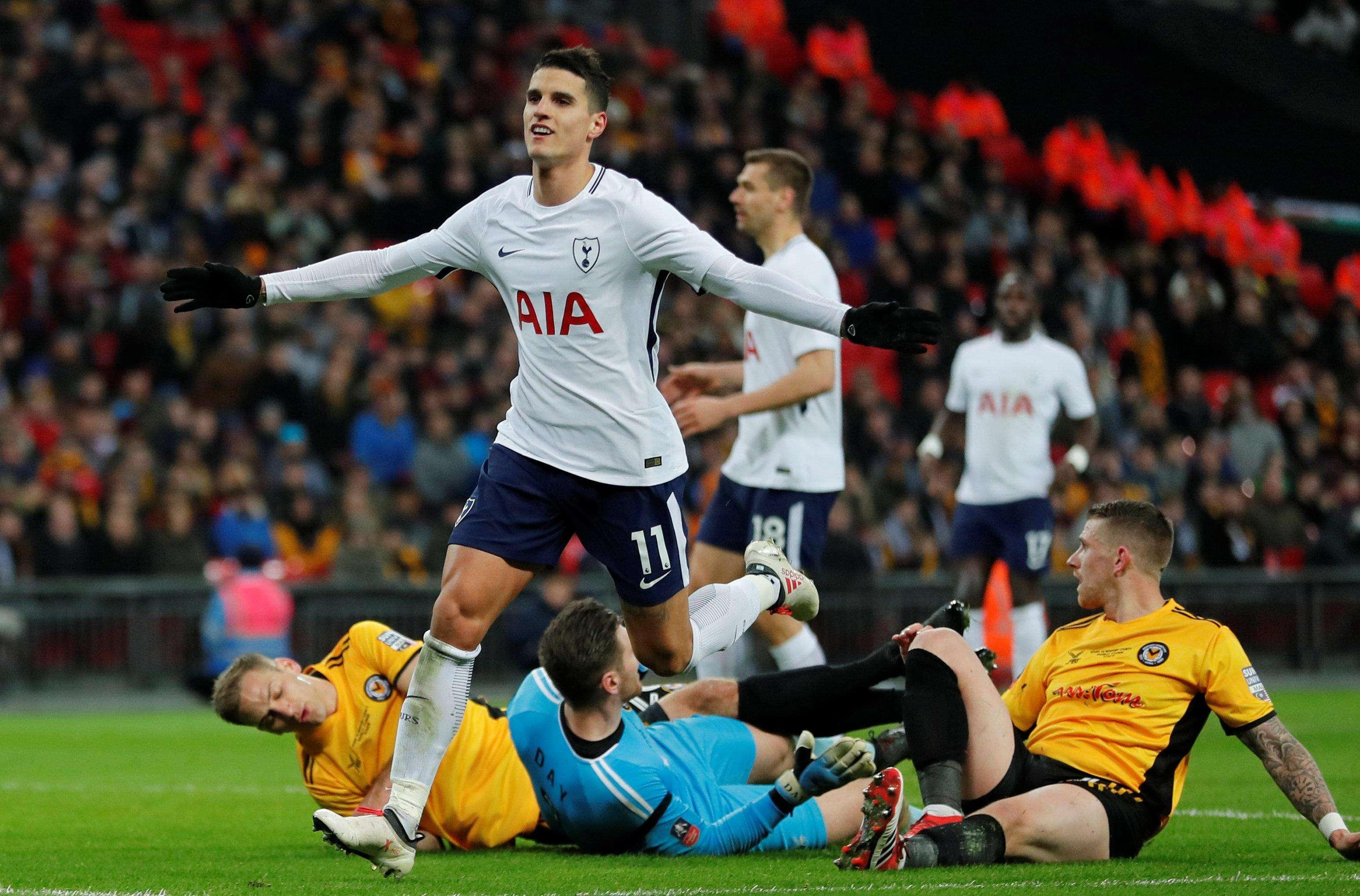 Tottenham luôn gặp khó khăn ở FA Cup