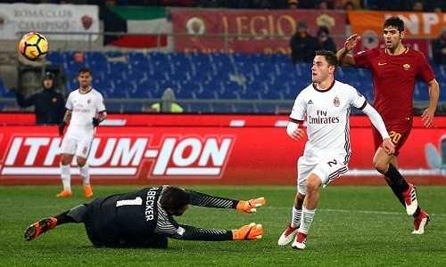 AC Milan hạ Roma, nối dài mạch bất bại