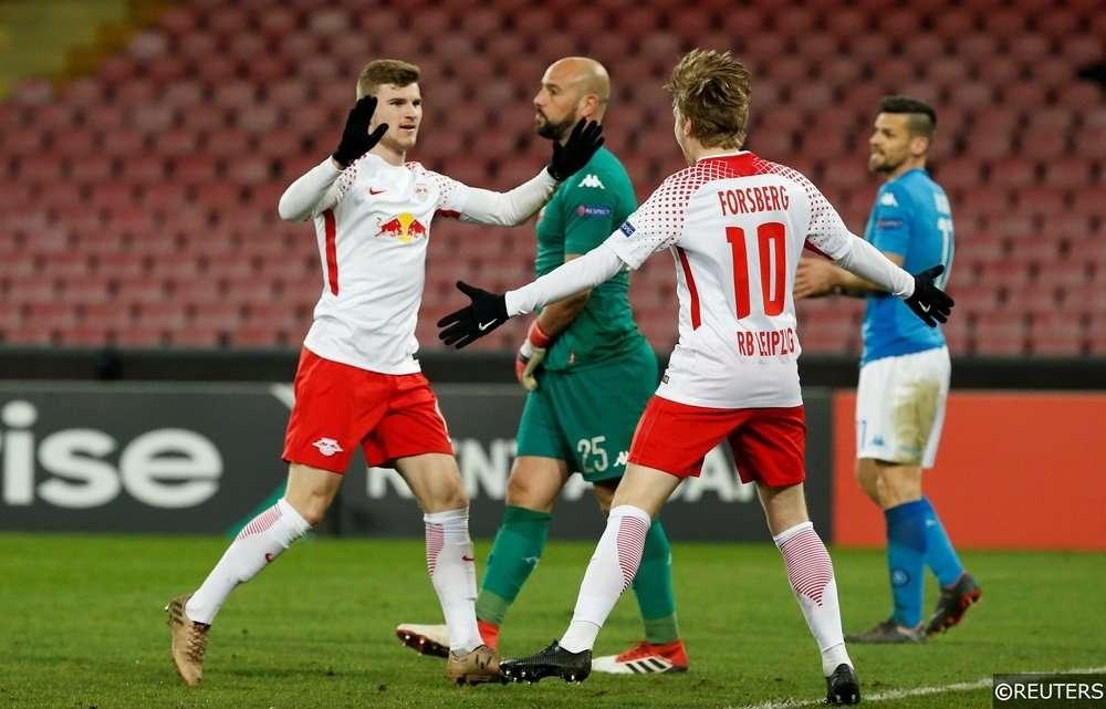Napoli đã để Timo Werner chọc thủng lưới