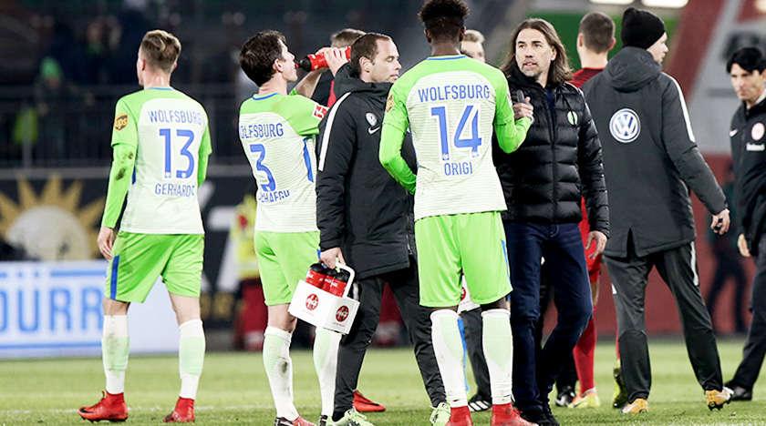Wolfsburg đang có phong độ đáng thất vọng