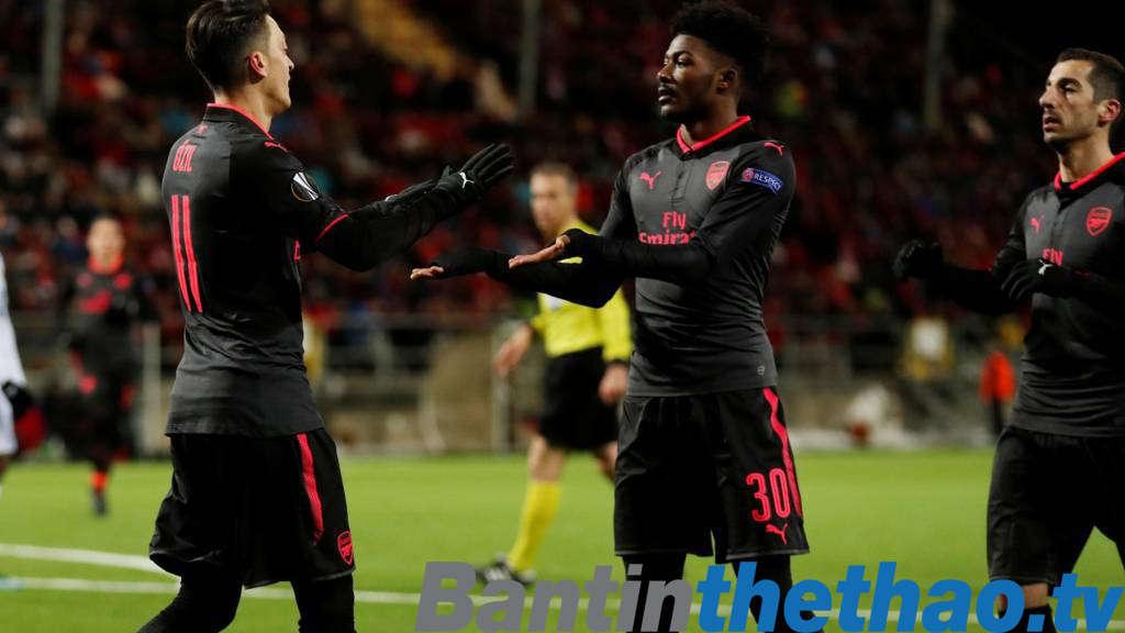 Arsenal vs Ostersunds đêm nay 23/2/2018 Cúp C2 Europa League