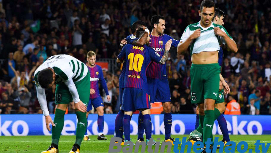 Barca vs Eibar tối nay 17/2/2018 La Liga