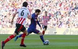 Messi tỏa sáng, Barca nhẹ nhàng tạo ra cách biệt 2 chữ số với Atletico
