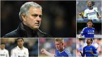 Những ngôi sao từng bị Mourinho ruồng bỏ