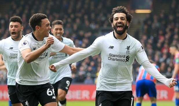 Salah ghi bàn thứ 29, Liverpool lội ngược dòng kịch tính trước Crystal Palace