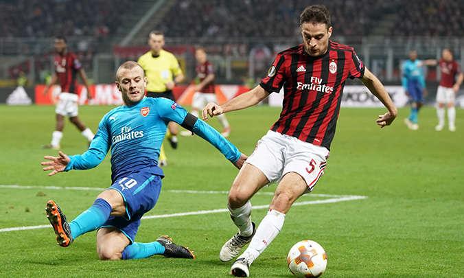 AC Milan bất ngờ đứt mạch bất bại trước Arsenal ngay tại San Siro