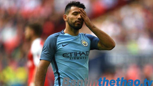 Sergio Aguero sẽ không có mặt trong trận đấu với Italy đêm nay