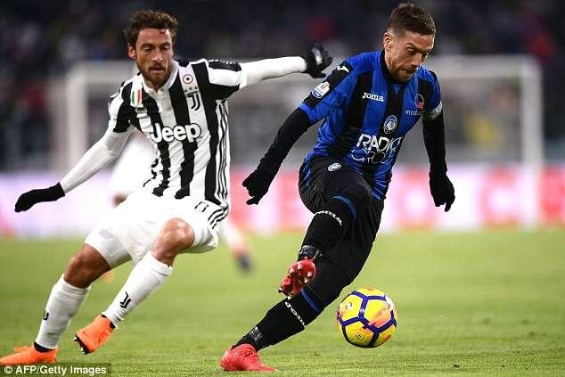 Atalanta toàn thua trong cả 9 lần gần nhất làm khách trước Juve