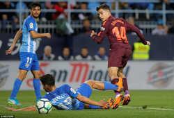 Thiếu vắng Messi, Suarez và Coutinho giúp Barca giành 3 điểm