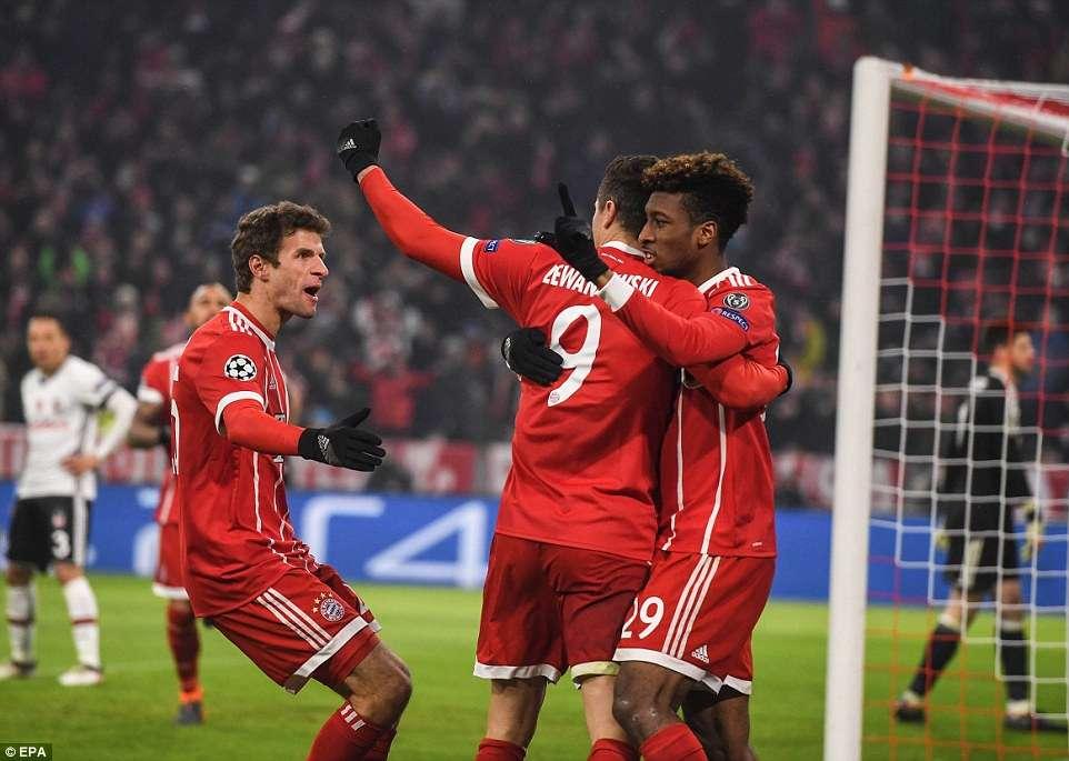 Bayern Munich đang hướng về trận đấu quan trọng gặp Sevilla tại Champions League