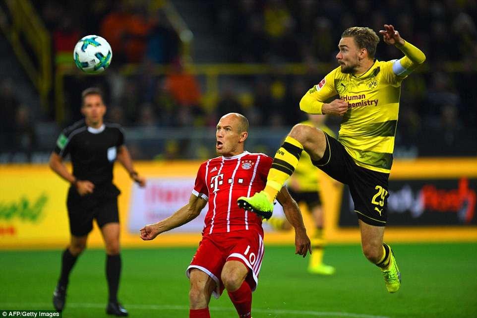 Bayern Munich khả năng sẽ không chơi hết sức trong cuộc tiếp đón Dortmund