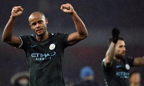 Man City chỉ cần năm trận thắng nữa là vô địch Ngoại hạng Anh.