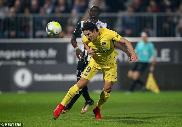 Sự trở lại của Cavani khiến cơ hội để Angers làm nên bất ngờ càng nhỏ nhoi hơn