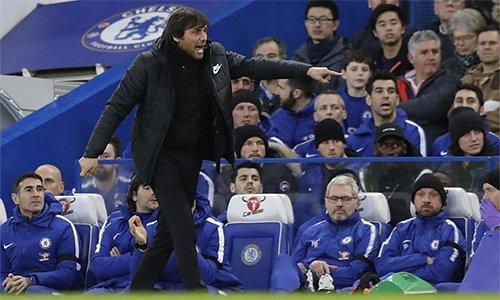 Conte ít nhiều giải toả bớt áp lực đè nặng lên ông vì những kết quả kém cỏi trước đó.