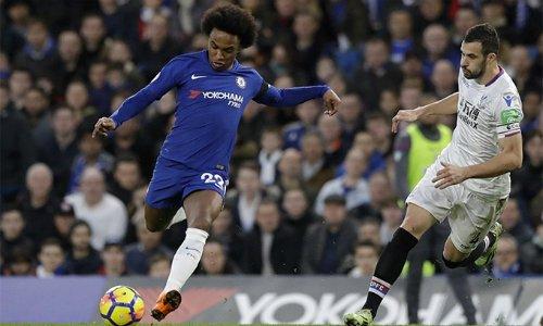 Willian đã ghi 13 bàn trên mọi mặt trận cho Chelsea mùa này - thành tích tốt nhất của anh kể từ khi gia nhập CLB. Bàn mở tỷ số trước Palace là bàn thứ 17 mà anh tham gia trực tiếp trong 18 trận gần nhất chính trên mọi đấu trường, trong đó Willian ghi 12 bàn và có năm pha kiến tạo..