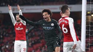 Thi đấu tẻ nhạt, Arsenal tiếp tục thảm bại trước Man City