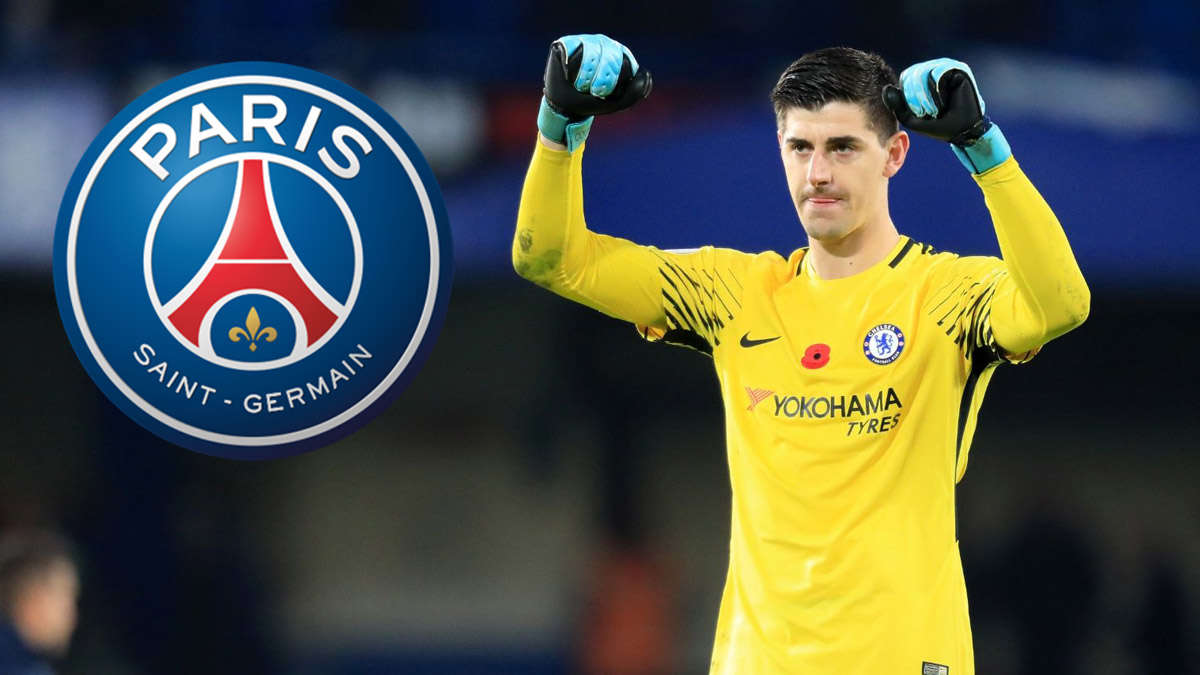 Courtois quyết rời Chelsea để sang PSG