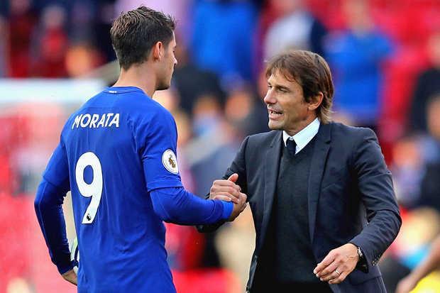 Conte tin tưởng Morata sẽ ghi bàn trong trận đấu với Tottenham