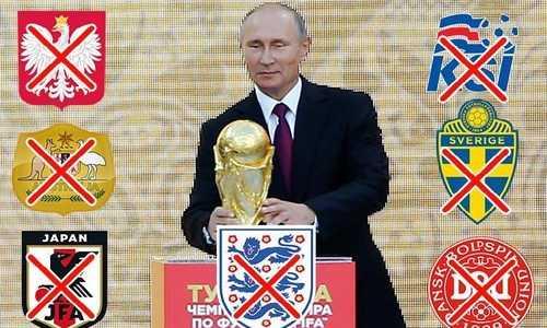 Anh có 6 đồng minh ủng hộ tẩy chay lễ khai mạc World Cup 2018