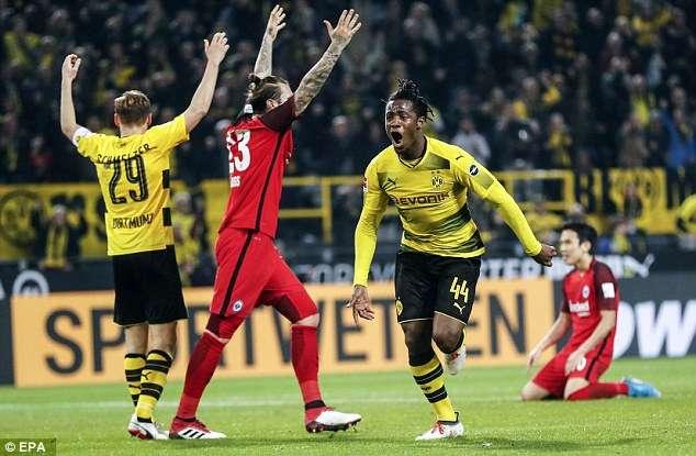 Dortmund đang hồi sinh mạnh mẽ cùng Michy Batshuayi