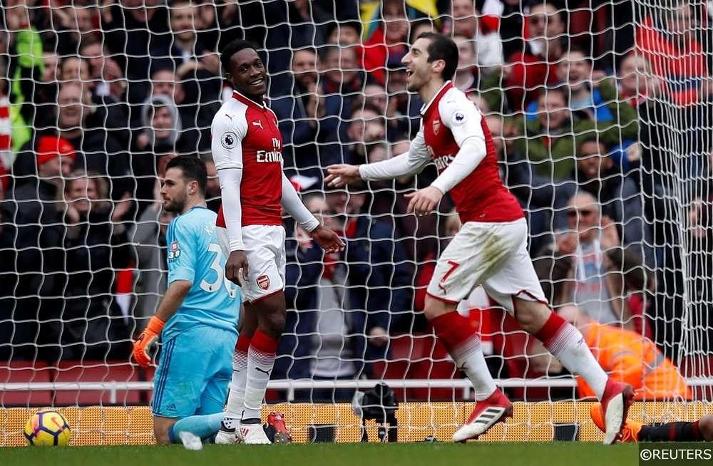 Arsenal đang dẫn 2-0 sau lượt đi