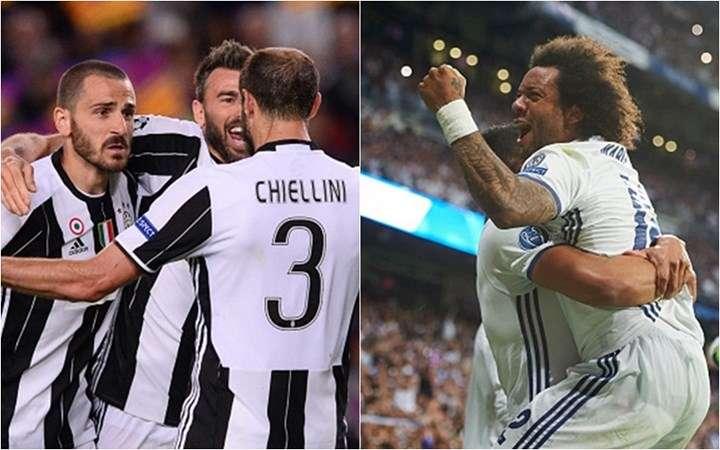 Tất cả các cầu thủ Real đều đang hướng về Juve vào lúc này