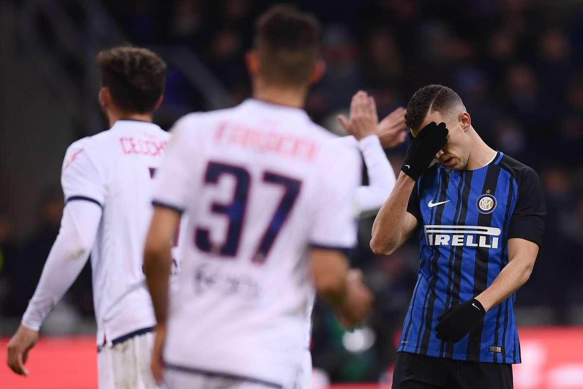 Inter bất ngờ sa sút tệ hại từ cuối năm 2017