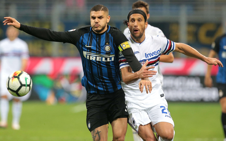 Sampdoria và Inter cùng quyết tâm giành chiến thắng vì mục tiêu dự cúp châu Âu