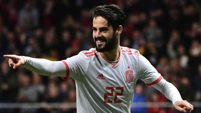 Isco sẽ là đội trưởng của Tây Ban Nha trong tương lai?