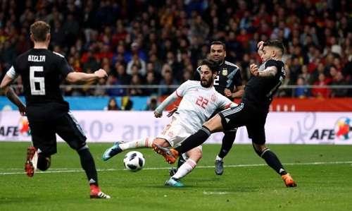 Isco tự tin hơn khi thi đấu ở đội tuyển Tây Ban Nha