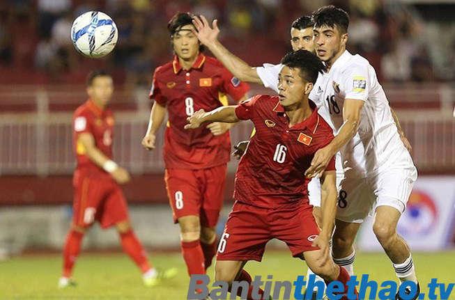 Việt Nam vs Jordan vòng loại AFC Asian Cup hôm nay 27/3/2018