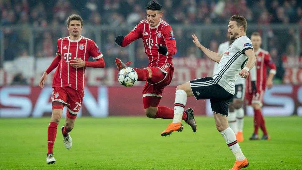 Bayern sẽ càng đáng sợ hơn khi James Rodriguez trở lại