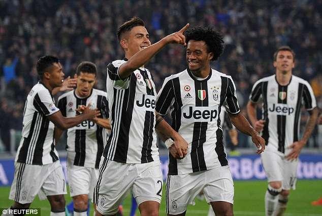 Giống như mùa trước, Juventus lại hướng đến cú ăn 3 mùa này