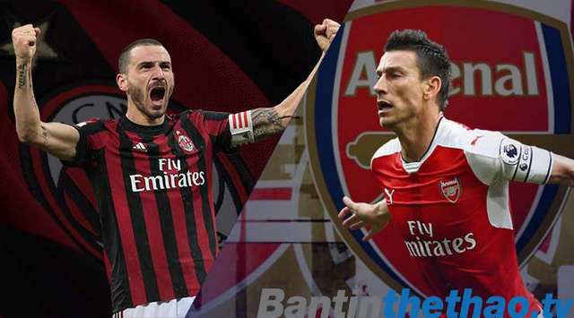 Arsenal vs AC Milan đêm nay 9/3/2018 Cúp C2 Europa League